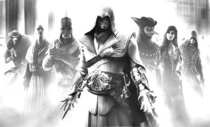 Assassins Creed Brother Hood Photoshop Pencil Art by Shh-Its-All-A-Lie
