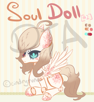 MLP - DTA Adopt - Soul Doll [2] [ENDED] by CindryTuna