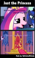 Comic: Just the Princess by MyPaintedMelody