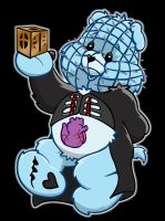 hellraiser care bear by yayzus