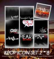 KPOP Icon Set 2 by Ciao-A