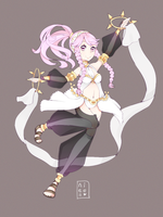 Olivia Fire Emblem by Nelliette