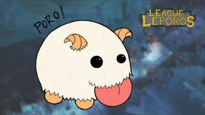 League of Leporos - Poro by JuanKA1