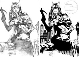 Huntress by Ed Benes by ernestj23