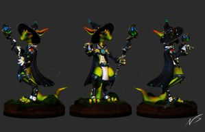 Lunar Magus Turnaround Shots by NBQuaternion