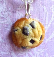 Chocolate Chip Cookie Charm by LittleSweetDreams