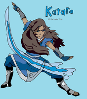 Katara of the Water Tribe by SeekerBear