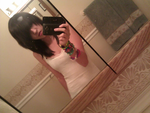 Old Pic: Me with black hair by xXxPayPayLovesYouxXx