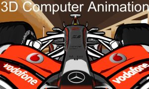 Hamilton Cartoon F1 Animation by Deansta
