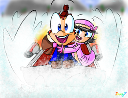 Phineas's Sleighride by LoveyLoo