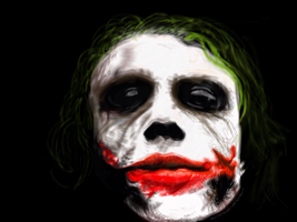 The Joker by dalilanadzri