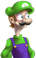 Luigi Must Resist by PalaceOfChairs
