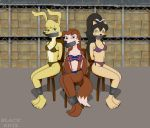 Tomoe Ame, Colleen y Daisy by BlackEkiz