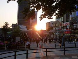 'Thirty' Japanese Pics - Sunset Tokyo by LordNobleheart