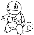 Pokemon Base: Squirtle by Kanean