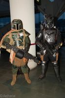 Bounty Hunters by Aether-Shadow