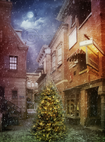 Old Christmas Town by Euselia