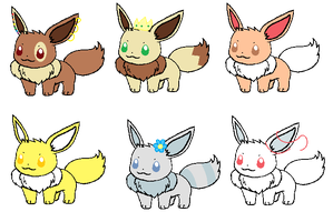 Eevee Adopts! (OPEN) by SNlCKERS