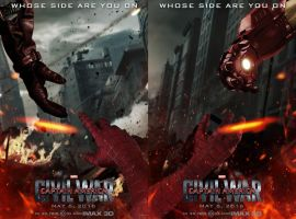 Captain America: Civil War Posters by TouchboyJ-Hero
