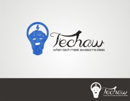 Techaw Logo by nightoverservice