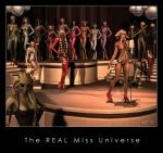 The REAL Miss Universe by Kaernen
