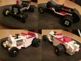 Listen to your inner nerd IV (Lego Hot Rods) by Kluwe