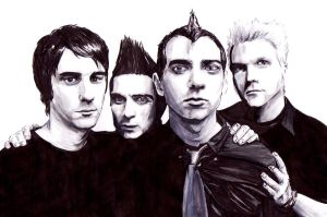 Anti-Flag by griboullages