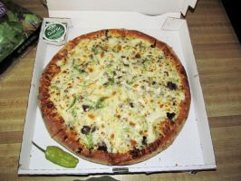 Papa John's Philly Cheesesteak Pizza by BigMac1212