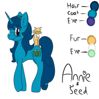 Annie and Seed reference by SpacePie