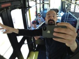 Aaron,Zak,and Billy on the bus by MJandGhostAdventures