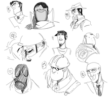TF2 Classes by Hennei