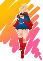 Supergirl Silverage - Sexy n Cute 1 by kclcmdr