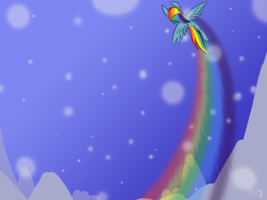 Rainboom by KeroseneCanine