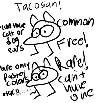 Tacosan SPECIES Ref by SweaterMaster