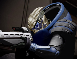 Garrus by Alcarie