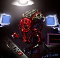 Dr GeoAxon MutatedCyborgThingy by Rene-L