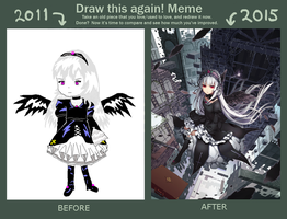 Draw Again Meme 2011 - 2015 by Pinlin