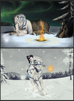 The cold, white Dangioures - SWE'13 - Endurance by CrackMonster