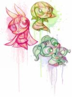 Powerpuff Girls Doodledump-19 by Busterella