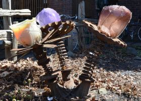 Rusted flowers by dorenna