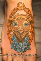 Cute Lion by Melissa-Capo