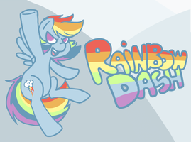 HECK YES RAINBOW DASH by Coggler