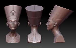 Nefertiti Revisited by hoskins78