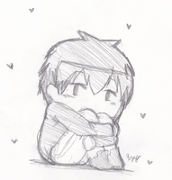 Chibi Bertholdt by DeliciousCreamPuffs