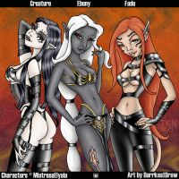 Elysia's Angels by DarrkestDrow
