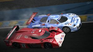Late 90's Le Mans Cars by K9RASArt