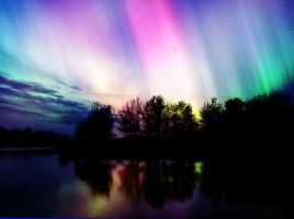 Northern Lights by chicah