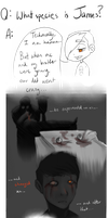 OCs QnA: James is Human, but not really anymore by OmNomWutNevrmind