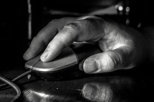 White Collar Hands At Work by CoreyEacret