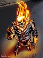 "GhostRider""ArtJam""-Color by fernicar"